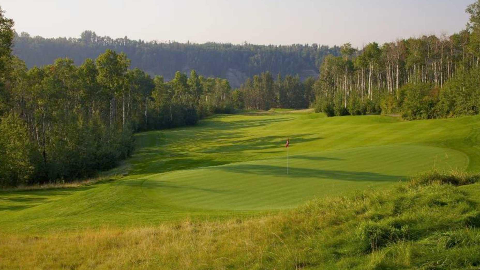 Blackhawk golf course in Canada.