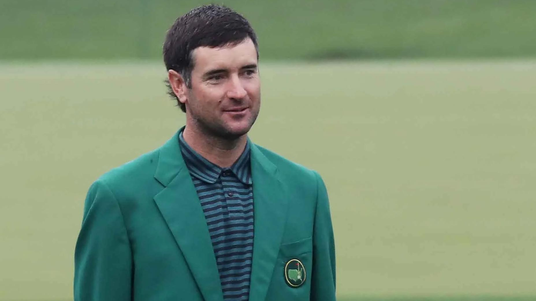 bubba watson in green jacket