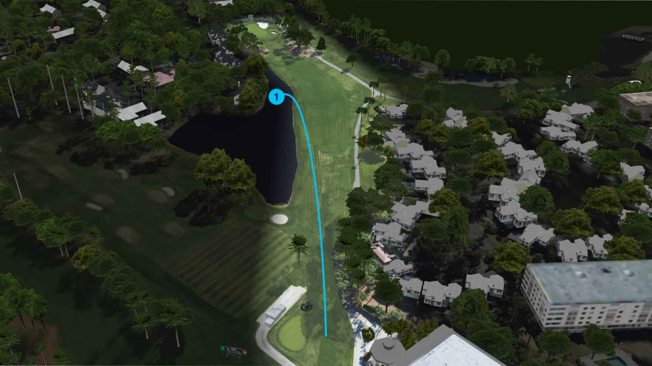 stewart cink bad drive at harbour town