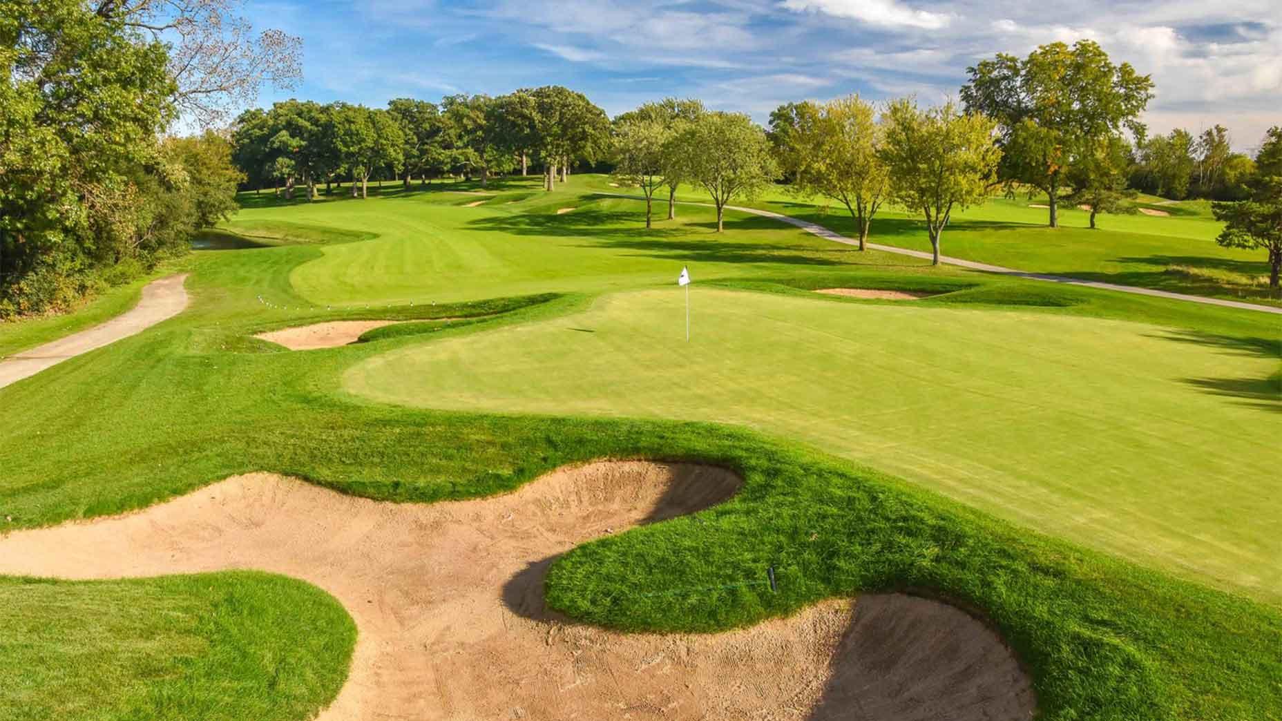 Cog Hill No. 4 golf course
