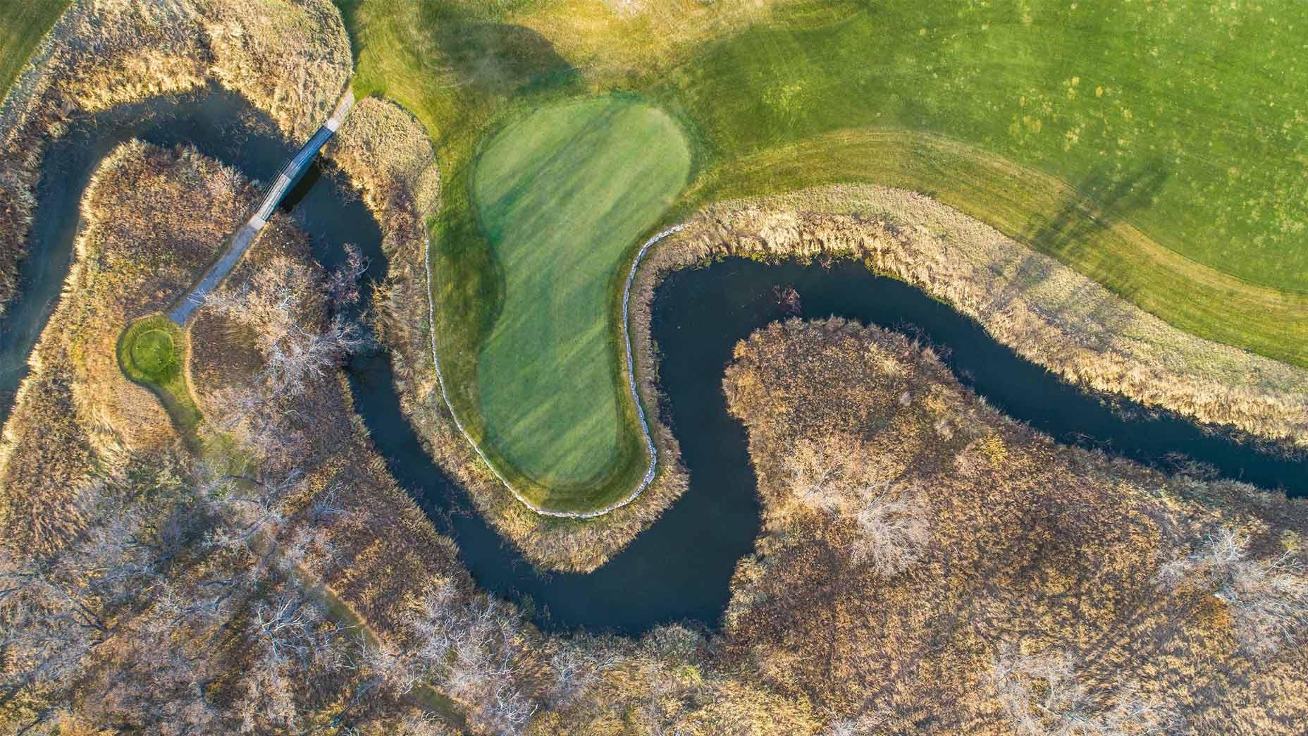 Hawktree golf in N.D.