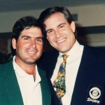 jim nantz smiles with fred couples