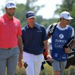 Jon Rahm and Ryan Palmer at 2021 Zurich Classic