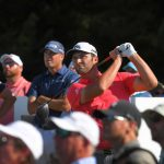 Jon Rahm and Ryan Palmer at 2019 Zurich Classic