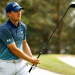 jordan spieth in first round masters