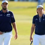 marc leishman and cameron smith walk