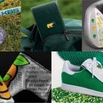 Custom golf gear for the 2021 Masters