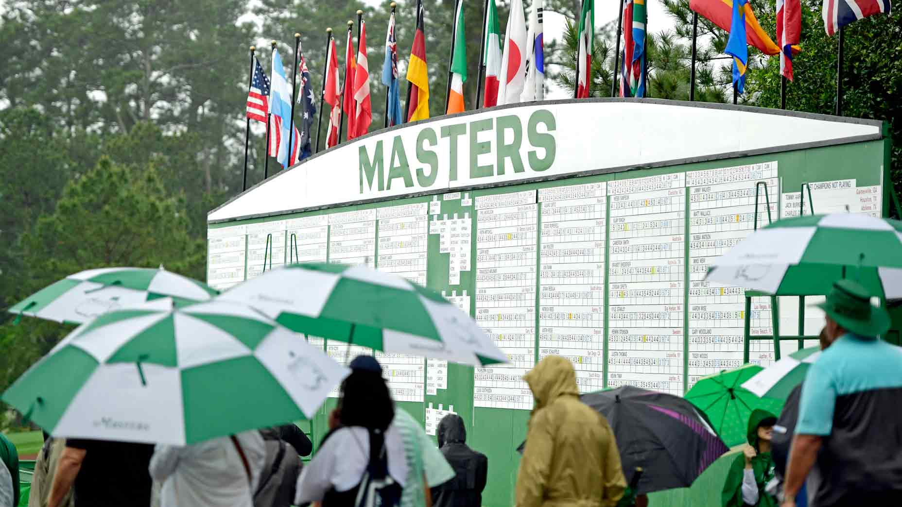 Masters weather forecast for Saturday