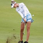 nelly korda hits iron