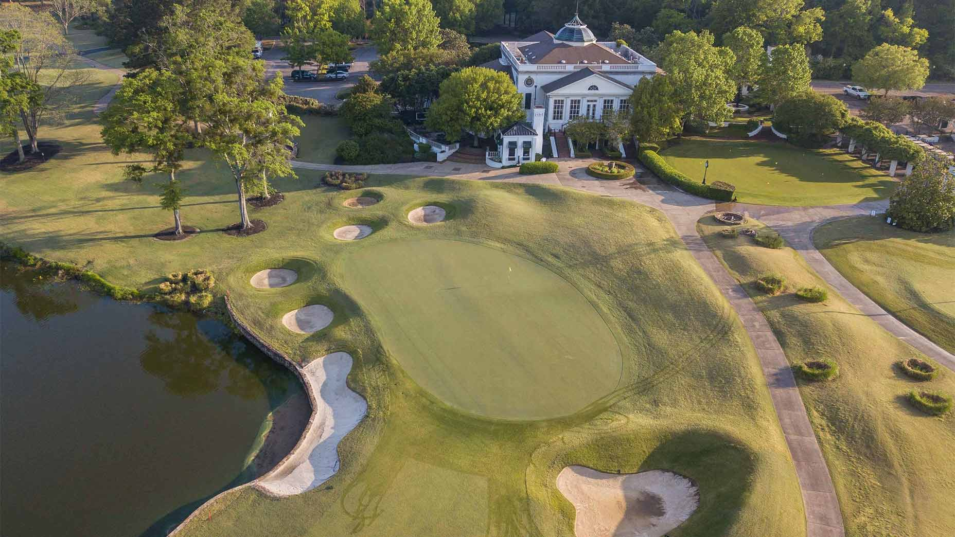 Old Waverly golf in Mississippi.