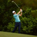 jordan spieth swings iron masters