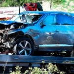 tiger woods vehicle after crash