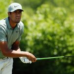 Tony Finau at Zurich Classic
