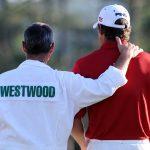 lee westwood at 2005 masters