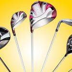 Callaway, Cobra and Ping women's golf clubs