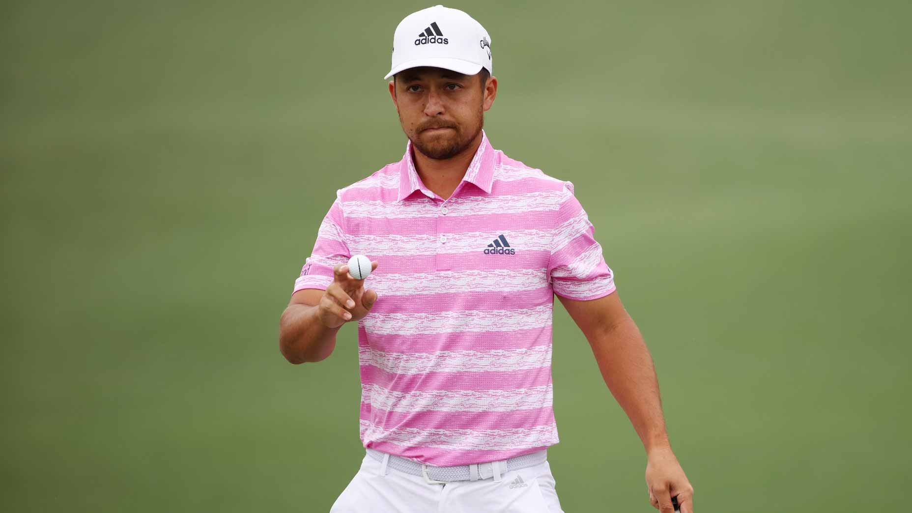 xander schauffele waves