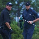 Phil Mickelson and Tom Brady have a score to settle in the next Match.