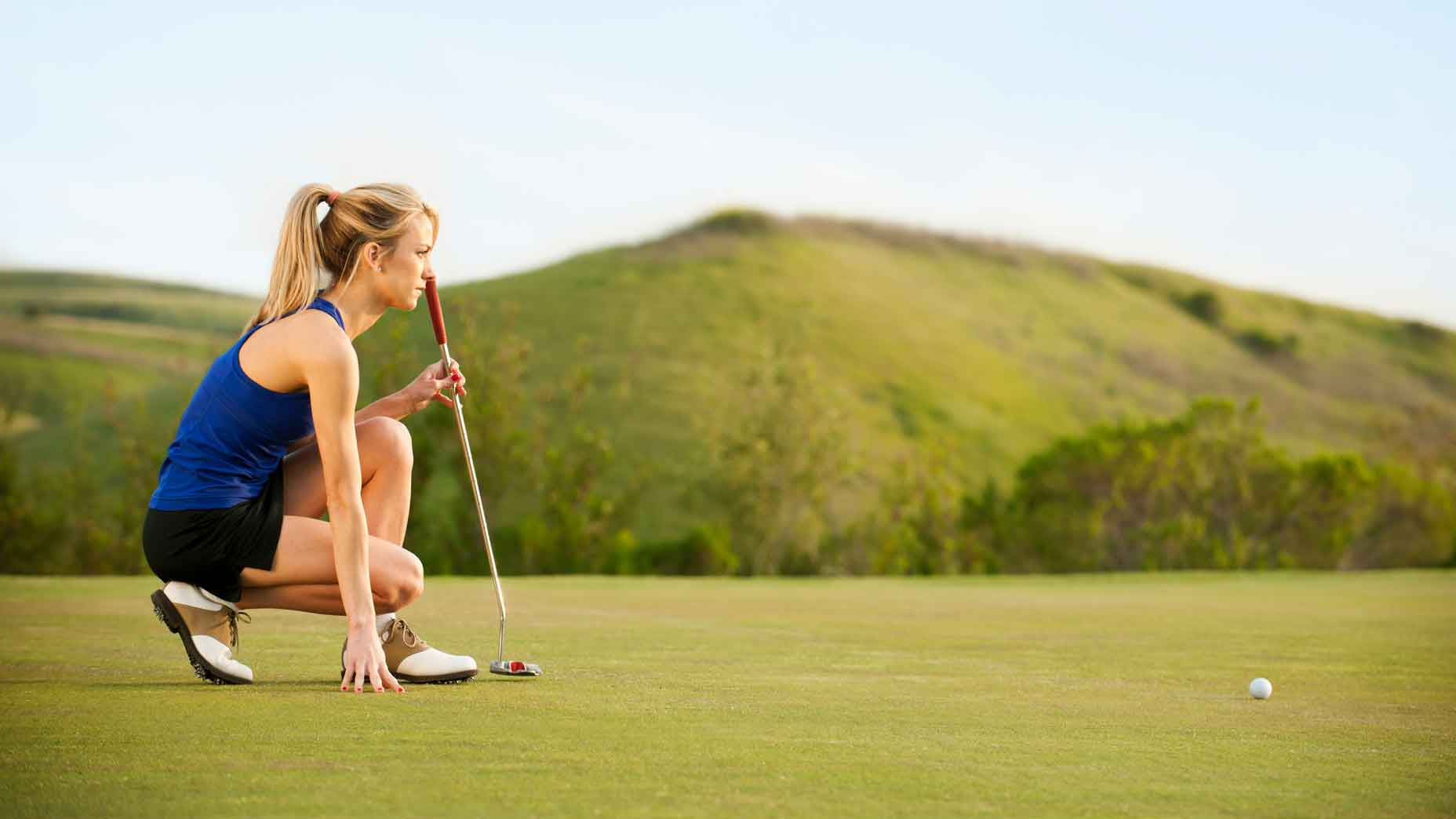 golfer focus