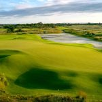 The 5th hole of the Ocean Course at Kiawah Island Golf Resort.