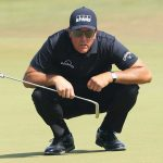 Phil Mickelson uses meditation to stay focused on the course.