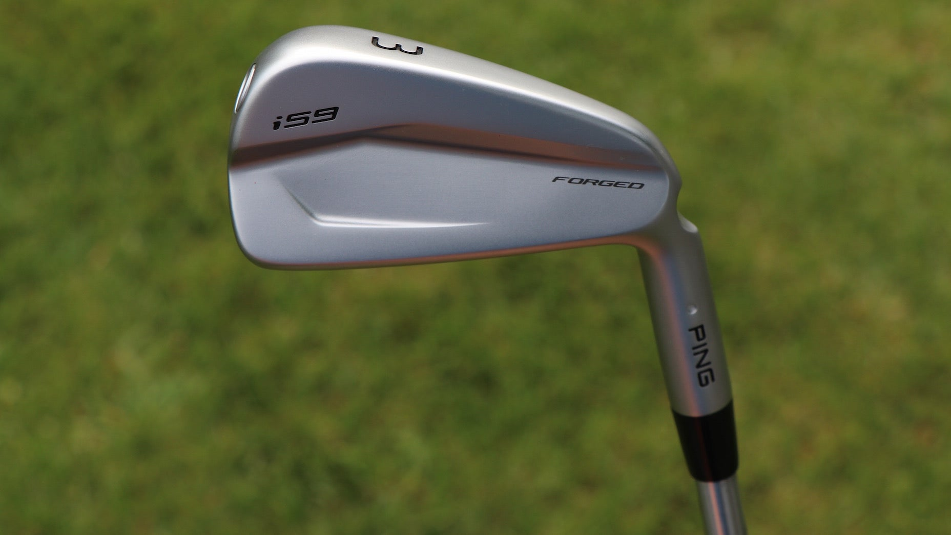 ping's i59 3-iron in-hand photos