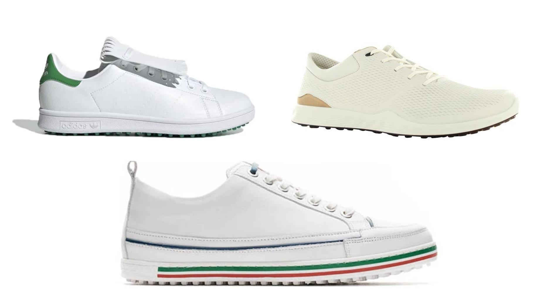 White sneakers are having a moment, and the golf world is catching on.