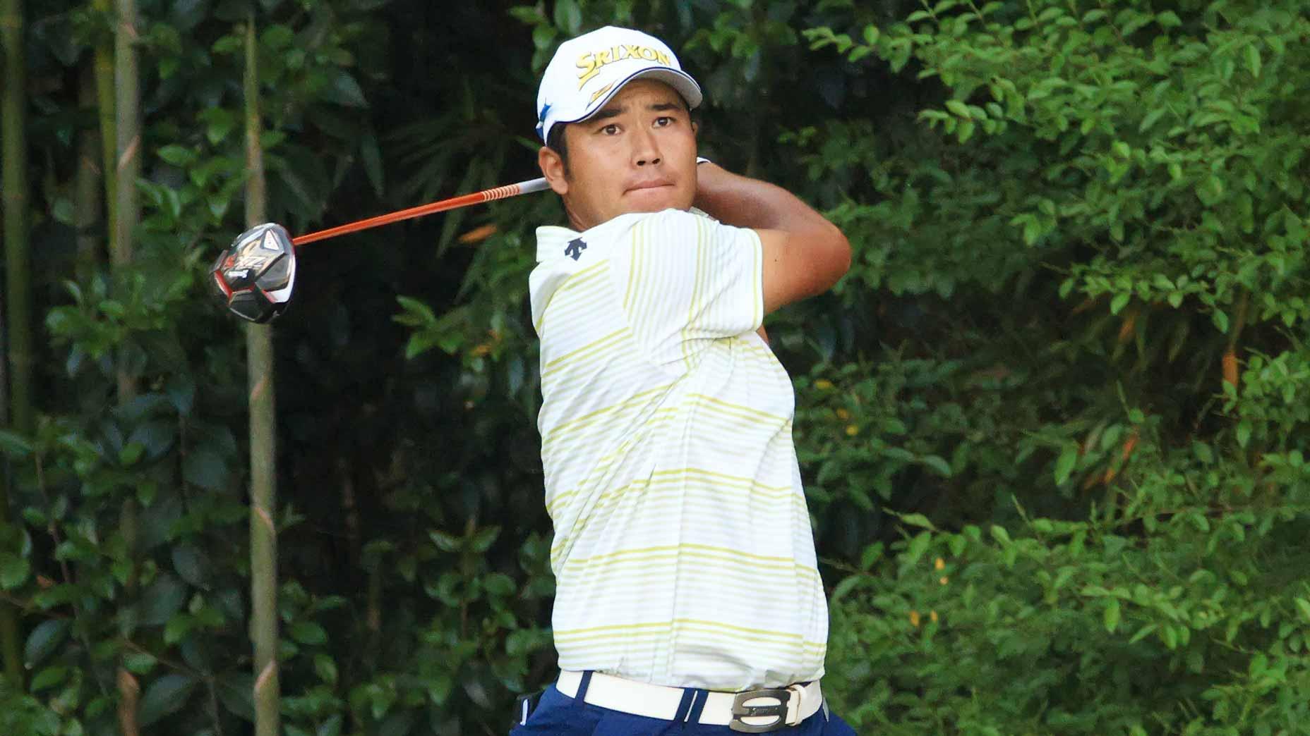 Hideki Matsuyama at 2021 Masters