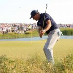 phil mickelson hits chip