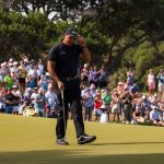 phil mickelson tips cap