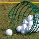 range balls in basketg
