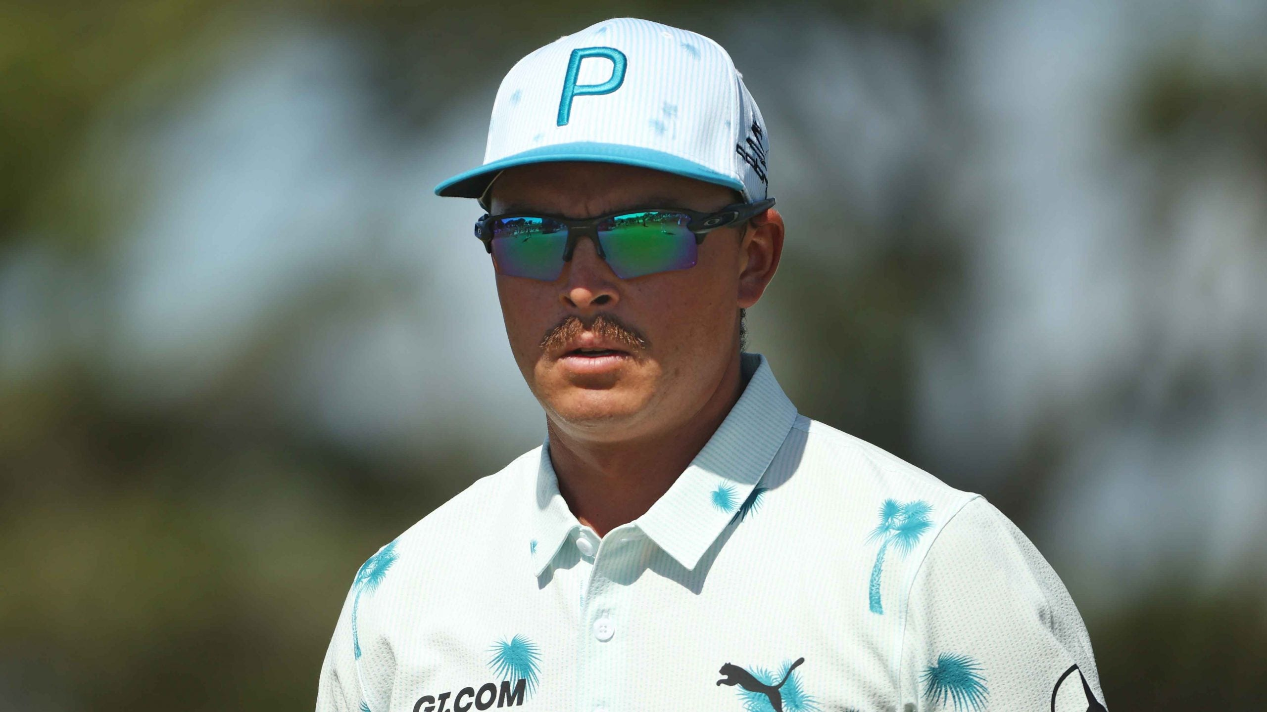 Rickie Fowler admits he had trouble seeing objects from 150 yards out