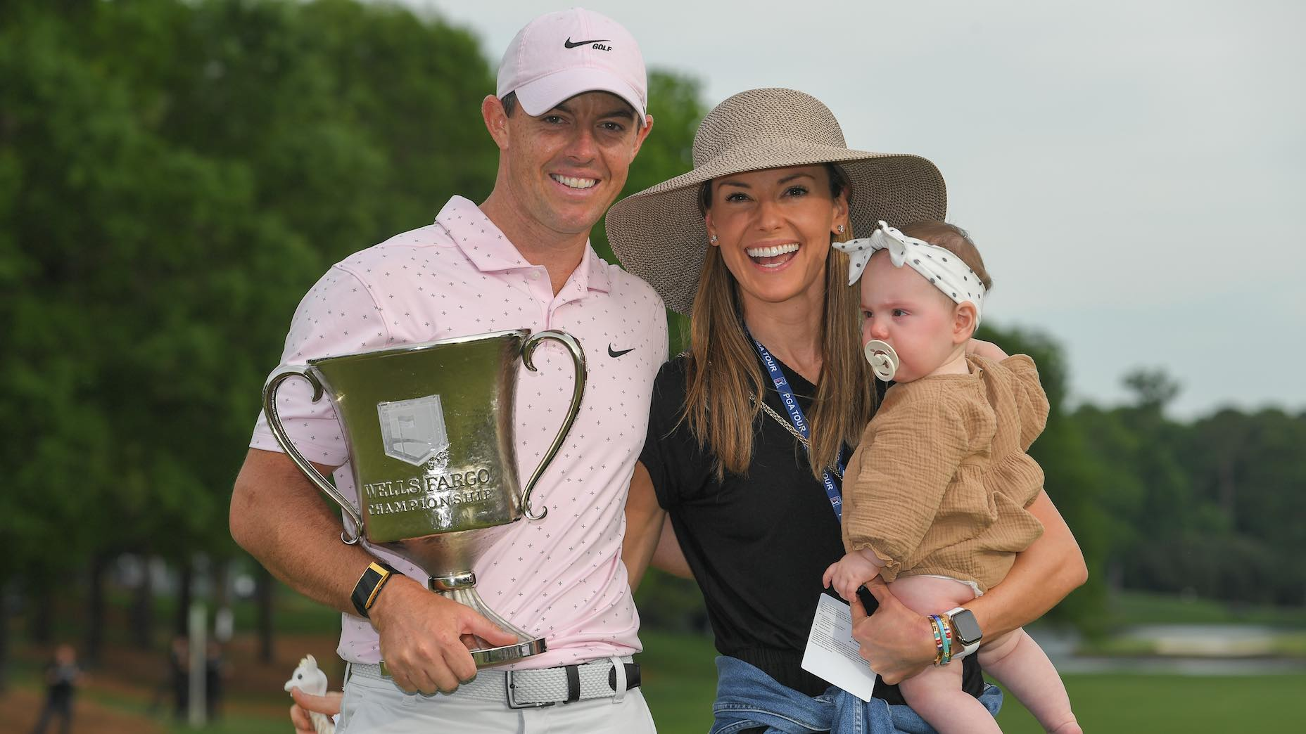 Rory McIlroy's win at the Wells Fargo was his first as a father.