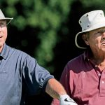 Dick Ferris and Arnold Palmer