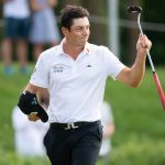 Viktor Hovland finished off a two-stroke victory in Munich on Sunday.