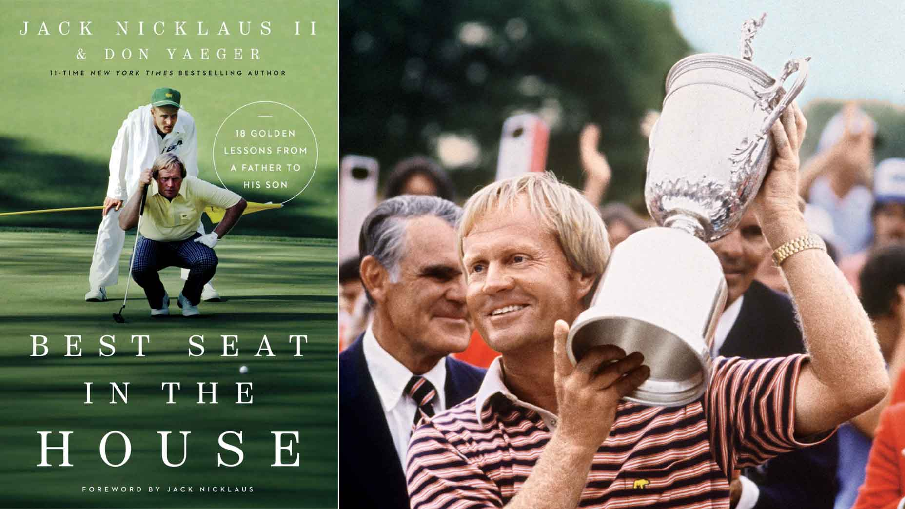 Jack Nicklaus book cover and photo
