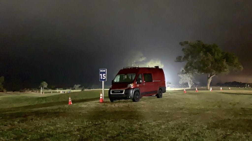 night van us open