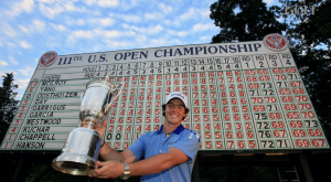 rory mcilroy at 2011 u.s. open