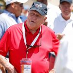 Jack Nicklaus at the 2021 Walker Cup.