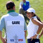 Megha Ganne smiles after finishing her final round on Sunday.