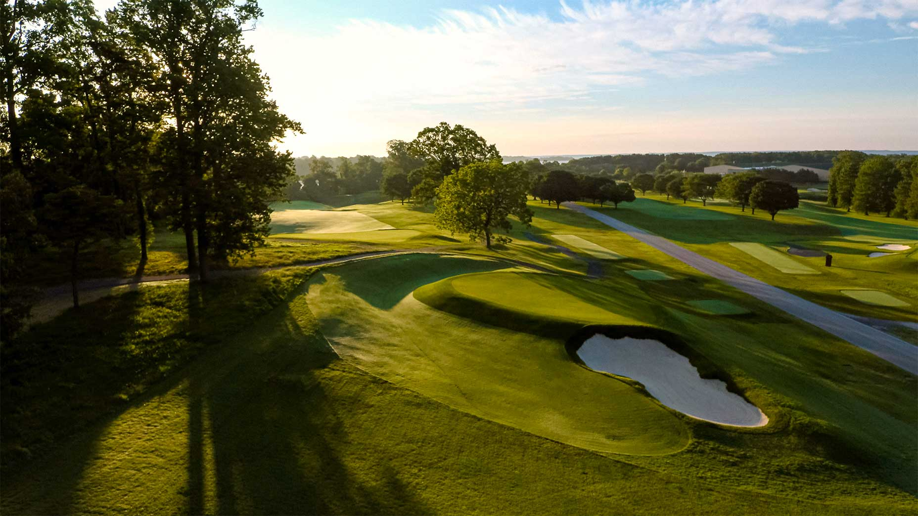 The Navy Academy Golf Course in Maryland.