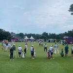 olympics golf weather delay