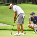 Xander Schauffele and Justin Thomas are representing Team USA at this year's Olympics.