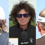 hair at the 2021 british open