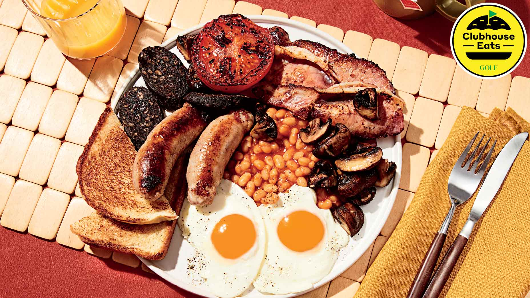 The English Fry Up at Royal St. George's.