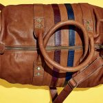 The Brown Leather Duffel Bag from FH Wadsworth