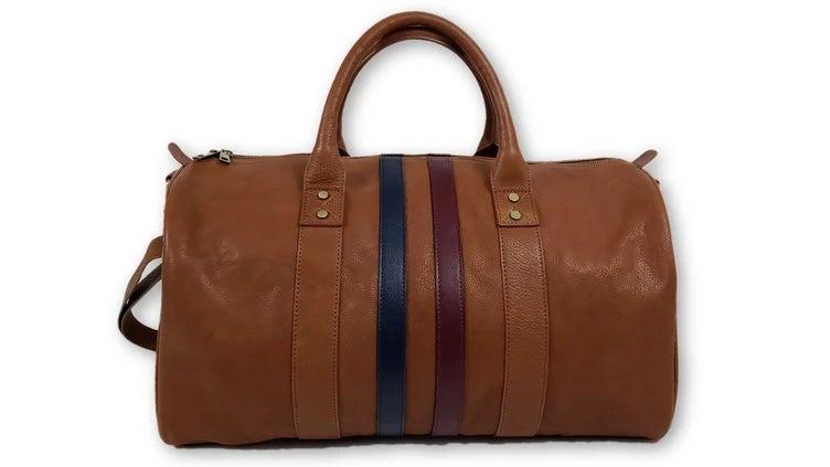 FH Wadsworth Leather Duffel Bag