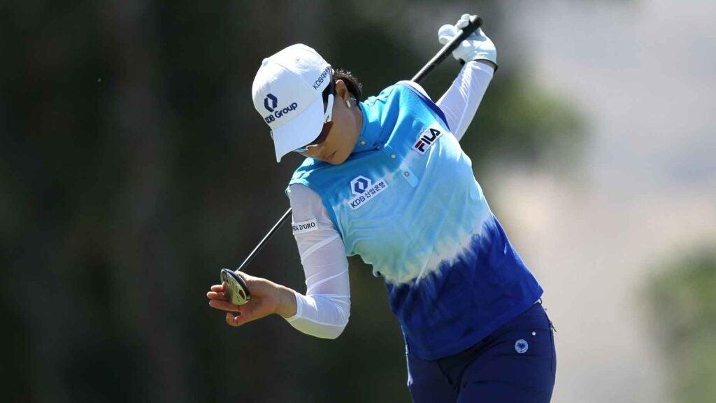 golfer warmup