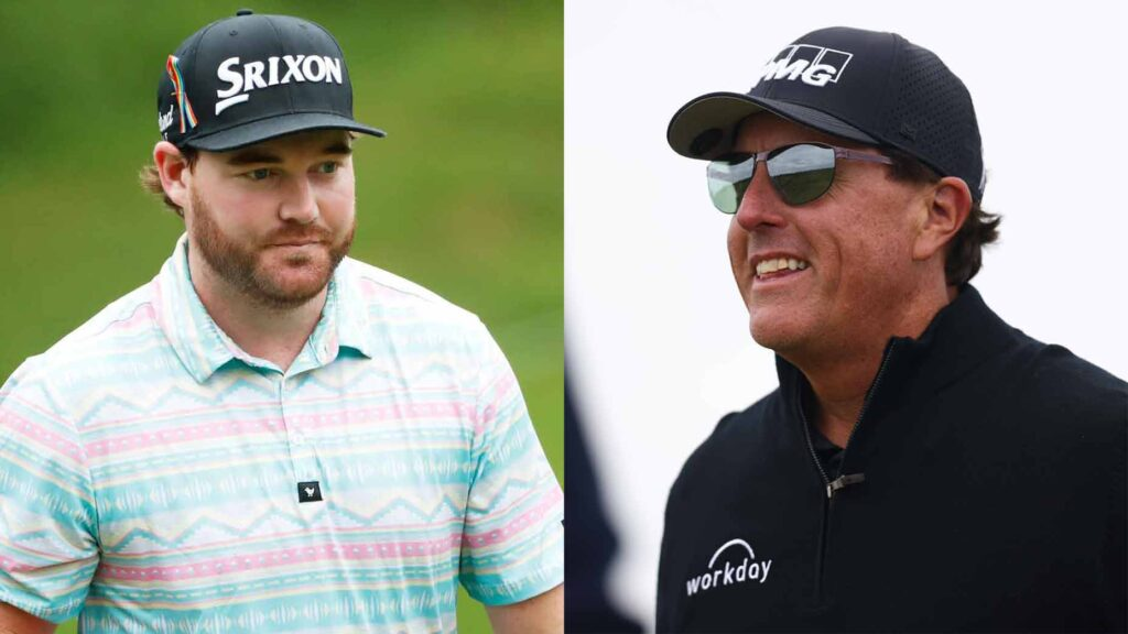grayson murray, phil mickelson