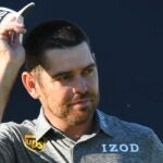 Louis Oosthuizen at the 2021 British Open.