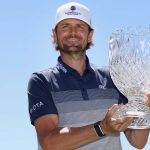 mardy fish holds trophy